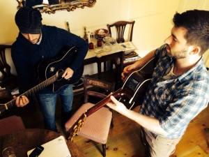 Lewis at Sing Songwriters' Retreat